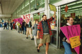 ACT/UP Atlanta demonstration outside Winn-Dixie, over firing of an HIV positive employee, Sage...