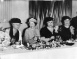 Martha Berry, Mattie Talmadge, Edith Wilson, and Mrs. Edgar Alexander at a luncheon given in honor...
