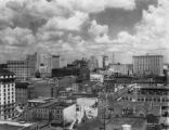 Downtown, looking north from City Hall, Atlanta, Georgia, circa 1930s