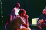 "Rehearsal of Rebecca Ranson's   ""Higher Ground: Voices of AIDS,"" Horizon Theatre,..."