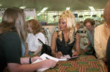 "RuPaul signing copies  autobiography, ""Lettin' It All Hang Out,"" Oxford Books, Atlanta,..."