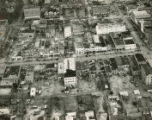 Aerial view of Albany, Georgia, after the February 10, 1940 tornado. Albany, Georgia, February...