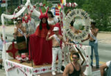 Float in the 25th annual Gay Pride Parade, Peachtree Street, Atlanta, Georgia, June 25, 1995.