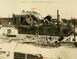 Gainesville, Georgia City Hall at Broad and Main Streets, destroyed after 1936 tornado,...