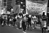 Atlanta Lesbian Feminist Alliance and other participants in the 17th annual Gay Pride Parade,...