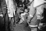 Boy scout injured by gas explosion in a local cave, Trenton, Dade County, Georgia, April 16, 1966.