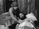 "Brenda Bynum and Del Hamilton in Athol Fugard's ""A Place with the Pigs,"" 7 Stages..."