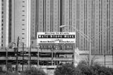 """Welcome to Atlanta, Hate Stops Here,"" billboard, Williams Street, Atlanta, Georgia,..."