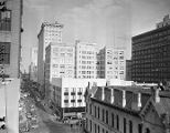 Atlanta, looking north down Forsyth Street towards the Healey Building, Atlanta, Georgia, October...