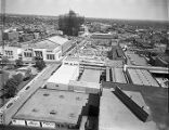 Looking east on the Municipal Auditorium, now known as Dahlberg Hall, taken from the Hurt...