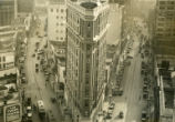 English American Building, Peachtree and Broad Streets; also known as the Flat Iron Building, ...