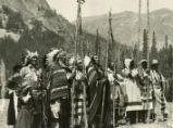 Indians of the Glacier National Park, Montana, 1964.