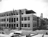 Construction of the tuberculosis hospital, Milledgeville State Hospital, Milledgeville, Georgia,...
