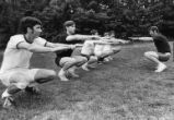 Clayton's recreation program to keep men fit, Georgia, June 1, 1971.