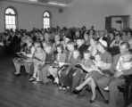 Family of William O. Poindexter attending a church service, LaGrange, Georgia, January 27, 1959.