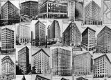 Various skyscrapers of Atlanta, Georgia, 1900-1940.