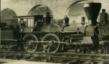 "The ""General,"" Civil-War locomotive, on display at Chattanooga Union Depot, Tennessee,..."
