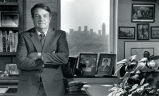 R. Charles Loudermilk, chairman and founder of Aaron Rents, Inc., in his office, Atlanta, Georgia,...