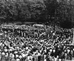 Governor campaign rally for James V. Carmichael, Moultrie, Georgia, May 11, 1946.