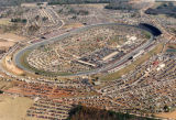 Aerial view of Atlanta Motor Speedway during the Hooters 500, Hampton, Georgia, November 15, 1992.