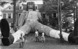 Giant Gulliver created for a competition by Emory's Sigma Chi Fraternity, Atlanta, Georgia, May 2,...