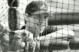 Atlanta Braves Dale Murphy smiles, at spring training, March 1988.