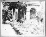 Copy photograph of Barnsley Gardens Plantation House before time and weather destroyed it, near...