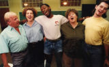 "Cast of ""Lavender Legends,"" rehearsal, at Little Five Points Community Center, Atlanta,..."