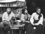 "Scene from  Bertolt Brecht's ""Mother Courage and Her Children,"" at 7 Stages Theatre,..."