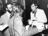 AFSCME officers negotiating with city officials, Atlanta, Georgia, March 16, 1976.