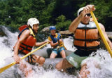White water rafting on the Chattooga River, Georgia, July 20, 1992.
