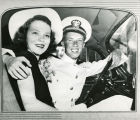 Jimmy Carter, in his Navy uniform, and Rosalynn Smith Carter on their wedding day, Plains,...