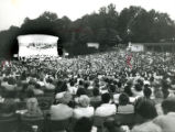 The Atlanta Symphony Orchestra performs at Chastain Park, 1985