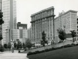 Downtown view from Central City Park (Woodruff Park)m 1981
