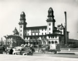 Terminal Station seen from street, circa 1940s