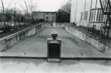 Covered swiming pool behind the Wimbish Mansion, Peachtree Street, Atlanta, Georgia, March 28,...
