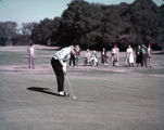 Mickey Wright during Sea Island Invitational golf tournament, 1958