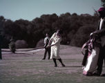 Golfer at the Sea Island Invitational golf tournament, 1958