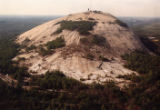 Aerial view of Stone Mountain, 1992