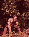 "Ronny Cox on the set of ""Deliverance,"" 1971"