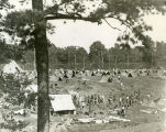 Student officer training tent camp, Fort McPherson, Georgia, early 1940s?