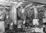 Thiokol Chemical plant explosion, interior damage, 1971