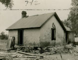 "Slave house, on the Thomas Connally Plantation, ""Evans Grove,"" East Point, Georgia,..."
