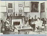 Gertrude Stein (1874-1946) and Alice B. Toklas (1877-1967) [postcard], 1974