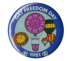 Gay Freedom Day 1981 [button]