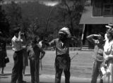 Native Americans performing for tourists, Great Smoky Mountains National Park, September 1941