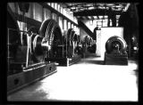 Turbines inside the power house at Norris Dam, Campbell and Anderson Counties, Tennessee, 1936