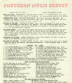 Southern Music Survey, 1965-06-28