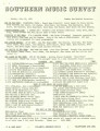 Southern Music Survey, 1965-07-19