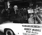 Aubrey Morris in Fourth of July parade